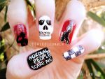 American Horror Story Nails by jeealee