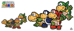 New Paper Mario: Koopa Bros. by Nelde
