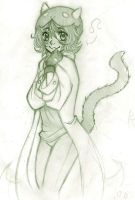 Nepeta Sketch by Moonzetter
