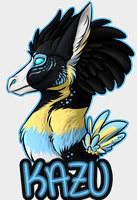 Headshot badge - Kazu by Sushi