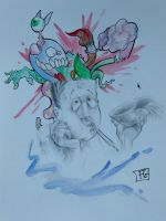 """""""Brain Storm"""" by CakeinyourFace"""