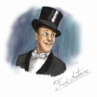 Fred Astaire by artsytarts