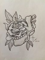 Mandible rose by bishop808