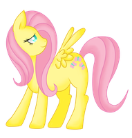 Fluttershy by SapphiresFlame