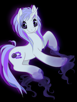 ghost pony adoptable (closed) by thecutetoxicbunny