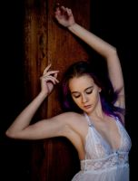 White Lace Lingerie by MordsithCara