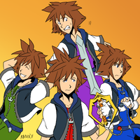 Four Sora by General-RADIX