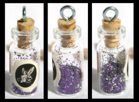 Cave Fairy Dust Bottle Pendant by GeneveveX
