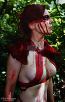 blood huntress by G-P-Photography