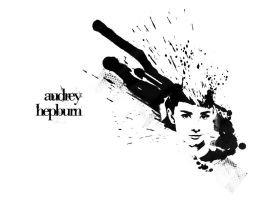 Audrey Hepburn Wallpaper by nicollearl