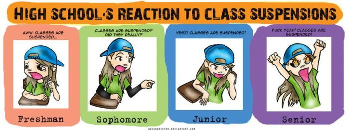 Class Suspension Reactions by quinngriever