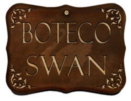 Placa Boteco Swan by kero69