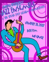 Jazz Ensemble Poster by estranged-illusions