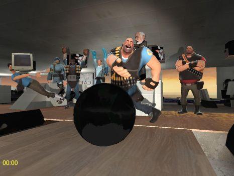 Moments with Heavy: Heavy goes bowling by SonGokuSSJgodssj