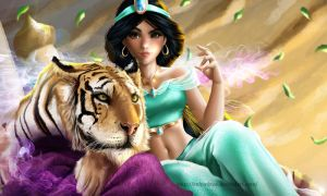 Jasmine and Rajah by IndyMBras