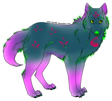 Wolf Adoptable *OPEN* by Glimmers-Shop