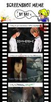 Death Note Meme! :D by Acornaih