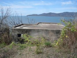 pillbox in seascape by thoughtengine