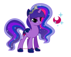 Moona Sparkle by SugarMoonPonyArtist