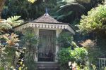 Relax creole kiosk in tropical garden by A1Z2E3R
