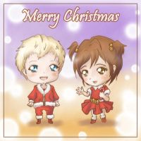 Merry Christmas Holden and Ava by Maye1a