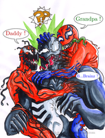 Symbiote Family by Doku-Sama