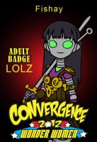 CONvergence 2012 Adult Badge by octocentesquiderfish