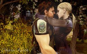 Jill Valentine and Chris Redfield 4 by mk-re55