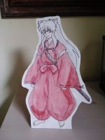 InuYasha Cut Out by starbuxx