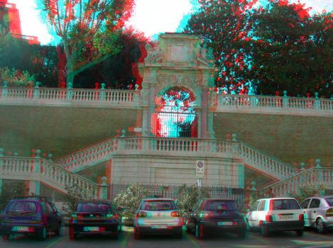Rome 10 3D Anaglyph by yellowishhaze