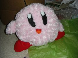 Kirby plushie by dragonmysticae