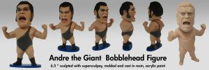 Andre the Giant Bobblehead by Habjan81