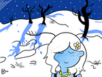 A winter night stroll by ask-kytothehero