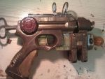SteamPunk Gun (Final design - Other side) by Mryddraal