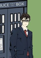 10th Doctor Tribute by Ocean-Drawn