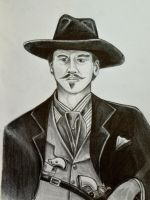 Val Kilmer as Doc Holliday by HotWheeler