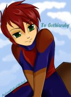 HB-day Gothicruby:Aerrow by BatMantle