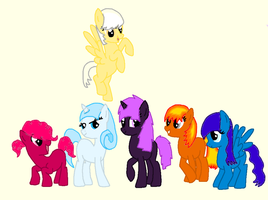 MLP Pony Adoptables by xPixels-Puff-Adoptsx