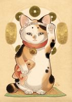 MANEKINEKO by blackBanshee80