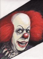 pennywise by SMOKEDSALMON