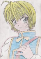 Kuruta Kurapika-colored by Rudi-Chama