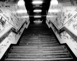 Stairway To Graffiti Heaven by OLSPUR
