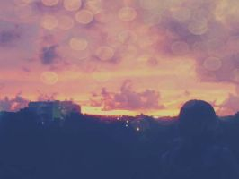 lovely sky by 00cheily00