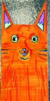 Kitty Bookmark by Timmytushoes