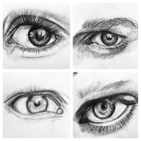 Eye Studies by brittneybastedo