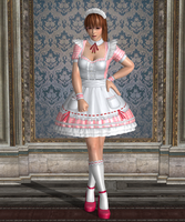 Pose - Kasumi in 'At Your Service' by Lhacrimosa