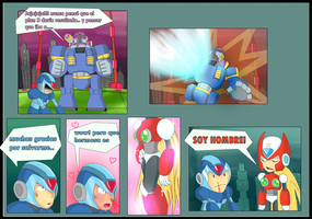 Megaman X comic : 2 by XNaKaMaX