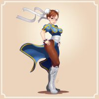 Chun-Li by Louistrations