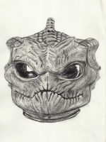 Silurian Sketch by MagicalMayhem7