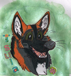 Tsula chibi conbadge by JamJams